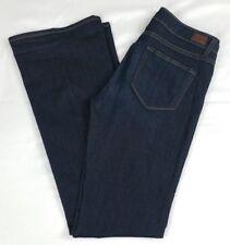 Paige Denim Women's Skyline Boot Dark Wash Jeans size 32 Tagged size 30