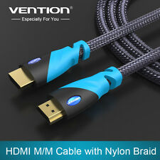 Vention HDMI 1M Cable Gold Plated 1.4V 1080p 3D For PS3, Projector, TV, Computer