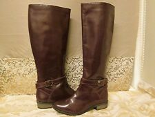 ASOS LADIES LEATHER KNEE HIGH BOOTS SIZE 4UK NEW
