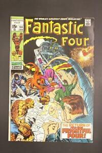 Fantastic Four # 94 - HIGHER GRADE - Human Torch Reed Richards MARVEL