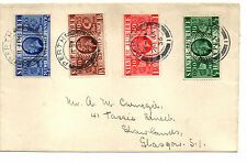 GB 1936 20TH JANUARY COVER WITH 1935 S.JUBILEE SET.(DATE OF DEATH GV)
