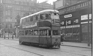 Glasgow Corporation Tram No 1263 in Argyle St