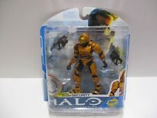 HALO COLLECTION SPARTAN SOLDIER SECURITY ORANGE ARMOR   TRU EXCLUSIVE