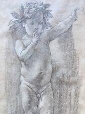 Rare lithographie Anselm Feuerbach 1829 1880 XIX Hanfstaengl München signé