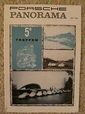 1963 Porsche PCA Panorama Magazine Vol#8 #7 July '63 RARE!! Awesome L@@K