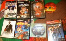 Mixed Lot of Playstation2 Ps-2 Games Variety.E-Mature.ThriftSt ore Find As Is!