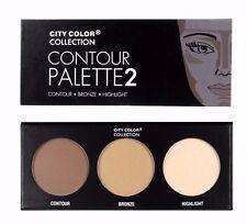 City Color Contour Effects Palette #2 - Contour, Bronze & Highlight Palette
