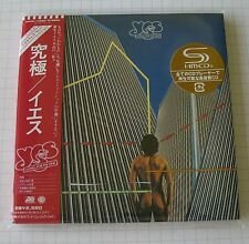 YES-going for the one Japon MINI LP SHM CD