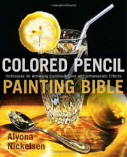 Alyona Nickelsen-Colored Pencil Painting Bible BOOK NEW