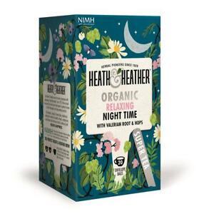 Heath And & Heather Herbal Organic Teas - 20 envelopes