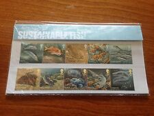 Royal Mail Sustainable Fishes Stamps Presentation Pack - NEW