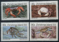 Christmas Island 1985 SG#203-6 Crabs MNH Set #A85716