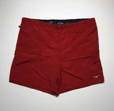 Polo Sport Ralph Lauren Swim Shorts Size XL Red Spell Out Vtg 90s