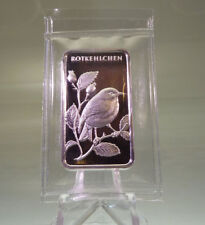 Silberbarren 1 oz Motivbarren Rotkelchen (Feinsilber 31,1 g)