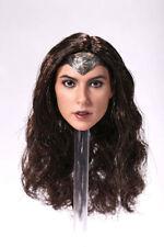 1:6 Scale Gal Gadot Wonder Woman Female Head Sculpt Model F 12'' Action Figure