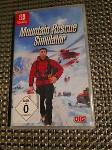 Nintendo Switch - Mountain Rescue Simulator - eingeschweißt ovp
