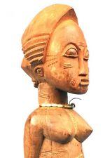 Art Africain - Authentique Epouse Mystique Baoulé - Pièce Villageoise Tribale