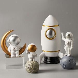 Spaceman Ornament Figure Home Decoration Astronaut Figurine Statue Desktop Decor