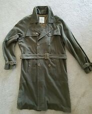 Alex Cannon Sage Green Suede Trench Coat large
