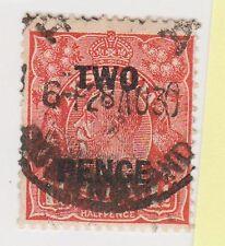 (JJ-425) 1930 AU 2d ON 1½d O/P KGV (BF)