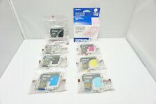 New Genuine EPSON Stylus Photo 2200 Ink cartridge 8 lot set T0341-T0348 T0346