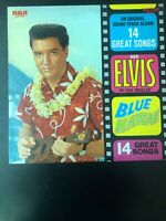 ELVIS PRESLEY~BLUE HAWAII~STEREO LP~RCA VICTOR~LSP-2426