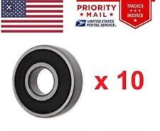 (Qt.10 ) 6203-2RS SKF Brand rubber seals bearing 6203-rs ball bearings 6203 rs
