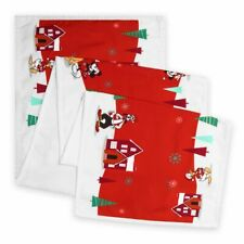 """Disney Store Mickey & Minnie 64"""" Christmas Holiday Table Runner NEW NWT SOLD OUT"""