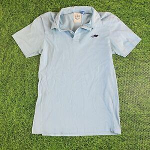 Marc Jacobs Stinky Rat polo shirt blue size Small EUC!