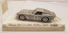 Solido Age d`or 1963 Ferrari 250 Gto Grand Prix Scale 1:43 w Case Diecast Car