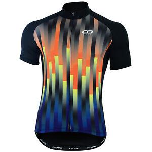 Didoo Cycling Jersey Mens Full Zip Half Sleeve Summer Anti Slip Short High Top