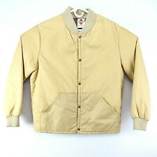 VTG Columbia Sportswear Mens Medium Beige Thinsulated Light Jacket Coat