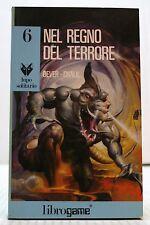 X3 25 NEL REGNO DEL TERRORE- DEVER, CHALK-LIBRO GAME COLLANA LUPO SOLITARIO N. 6
