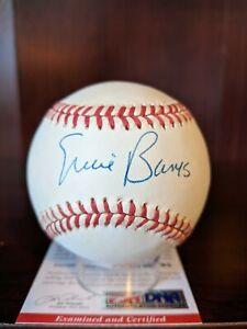 Ernie Banks Signed Autographed OML Baseball PSA/DNA Cert Chicago Cubs HOF Auto