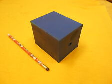 BLUE POLYURETHANE BAR plastic sheet flat stock 3