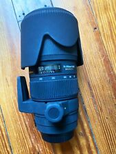 Sigma APO 70-200mm f/2.8 APO HSM EX DG OS Lens For Canon With Lens Hood & Bag