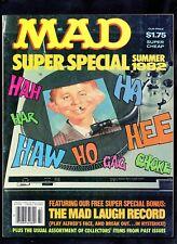 MAD SUPER SPECIAL #39 FINE  (INCLUDES ATTACHED RECORD INSERT) 1982 EC
