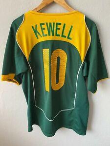 AUSTRALIA 2005 2006 AWAY FOOTBALL SHIRT SOCCER JERSEY NIKE VINTAGE #10 KEWELL