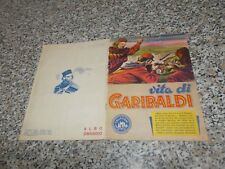 ALBUM VITA DI GARIBALDI ED.LAMPO 1955 COMPLETO OTTIMO TIPO PANINI EDIS IMPERIA