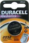 1 x DURACELL CR2032 3V LITIO A MONETA CELLE Batteria 2032