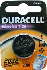 10 x Duracell CR2032 3 v al litio moneta cella 2032 BATTERIA