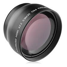Opteka 46mm 2.2x Telephoto Lens for Panasonic Lumix G X Vario PZ 45-175mm O.I.S