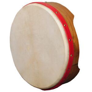 """Muzikkon 12""""x3.5"""" Bodhran Drum, Irish Bodhran for Kids, Shamnic Drum"""