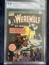 Werewolf By Night #33 2nd Appearance of Moon Knight 1975 CGC 8.0 Key Issue