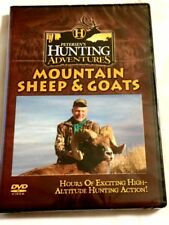 "Brand New DVD ~ "" Hunting Mountain Sheep & Goats "" ~ 65 Minutes of Playing Time"