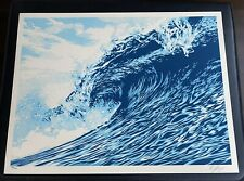 Wave of Distress - Blue Edition - Shepard Fairey - Obey