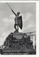 79001 LEGNANO MONUMENTO ALLA BATTAGLIA DI LEGNANO 1956