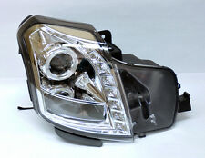 Cadillac CTS 03-06 Projector Halo Angel Eye LED Headlights - Clear