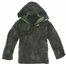 Gents Oak Tree Camo Waterproof Breathable Coat Mens Fleece Inner Hunting Jacket 5xl
