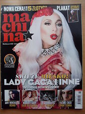 MACHINA 11/2010 LADY GAGA,Jamiroquai,Britney Spears,Christina Aguilera,Rihanna